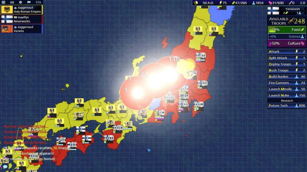 Firmament Wars - Japan FFA