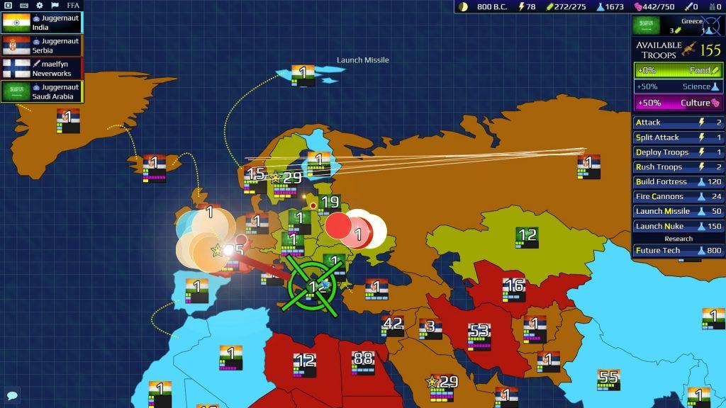 Firmament Wars - Earth Alpha FFA